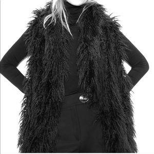 Black vest jacket